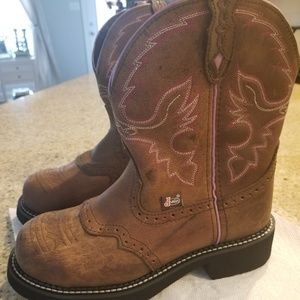 Justin's Steel Toe Gypsy Boots
